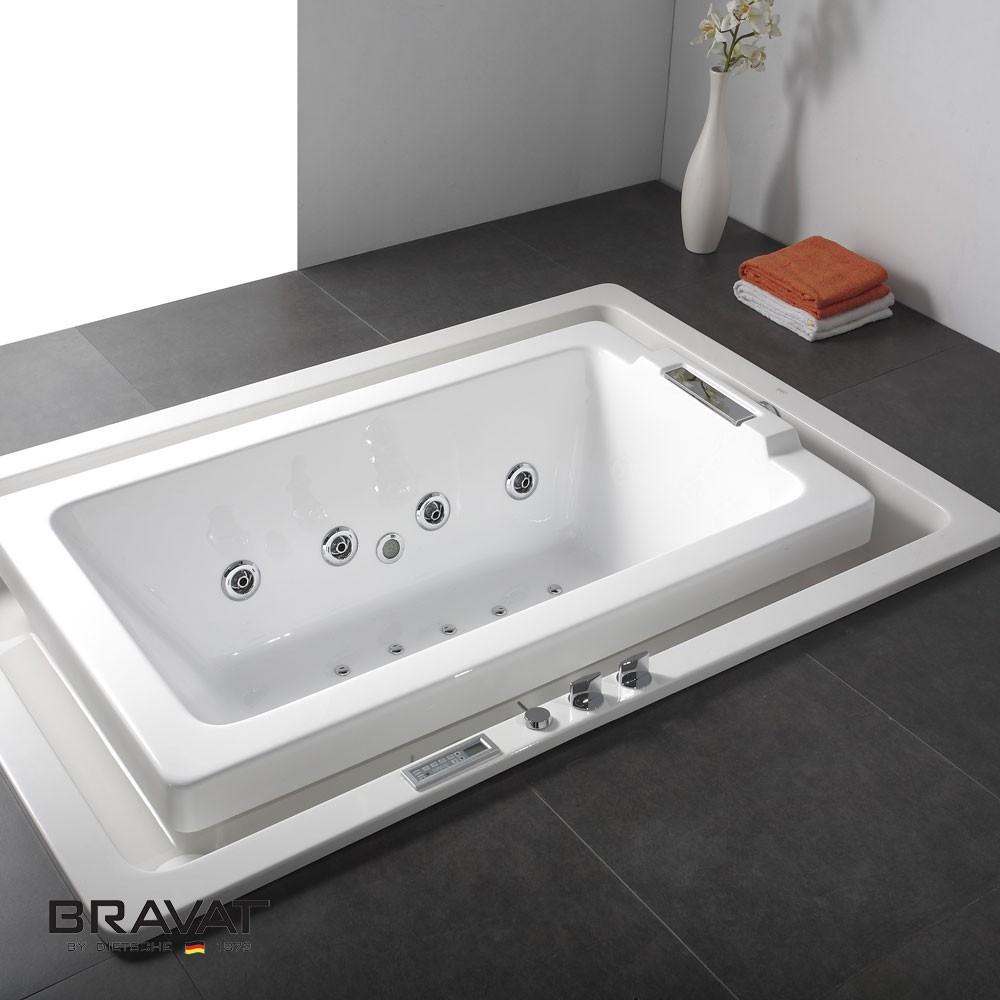 Shop Bravat Infinity Water Flow Bathtub Online. Bathselect Accessories