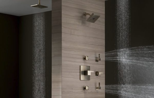custom shower system that you have the freedom to design