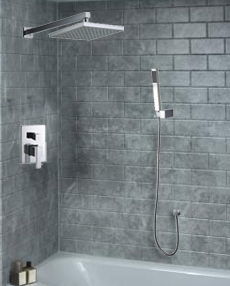 Shower Head Set With Handheld Installation Instructions