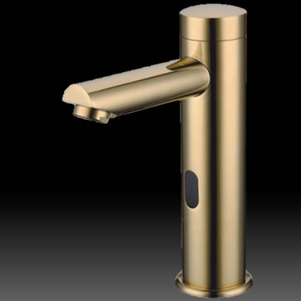 bathroom faucets gold tone finish bathroom sink faucets hands free