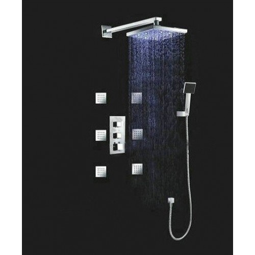 Contemporary LED Shower Set
