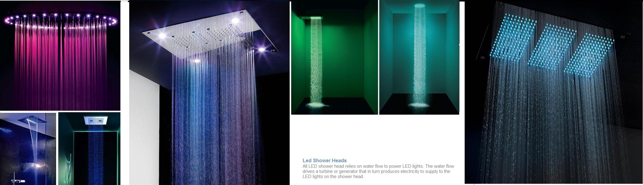 led shower head lights stopped working - Led Shower Head