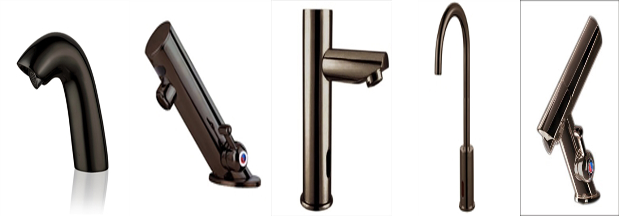 ... Automatic Kitchen Faucet Rubbed Bronze Motion Sensor Faucets ...