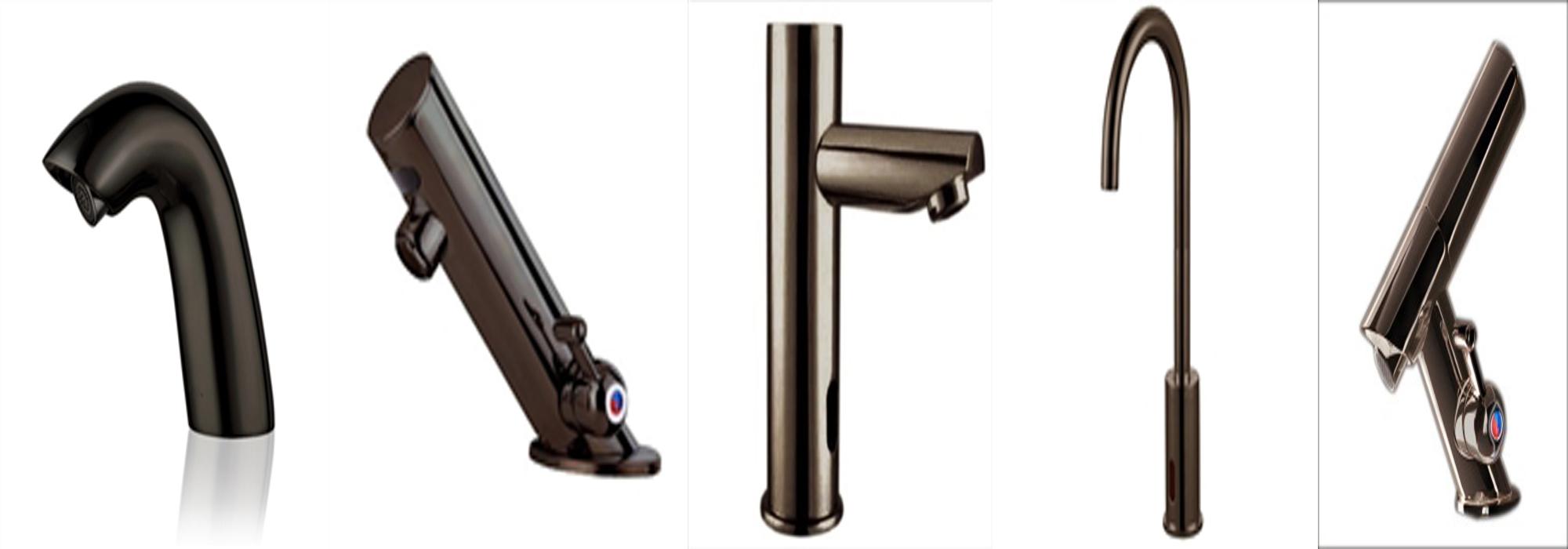 Oil Rubbed Bronze Motion Sensor Faucets