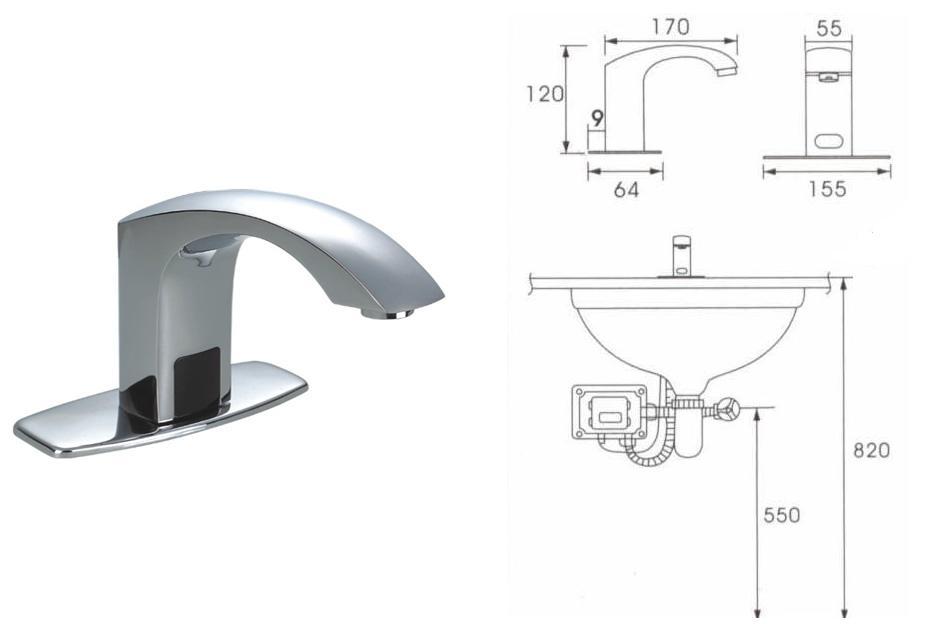 St Joseph Hospital Automatic Faucets