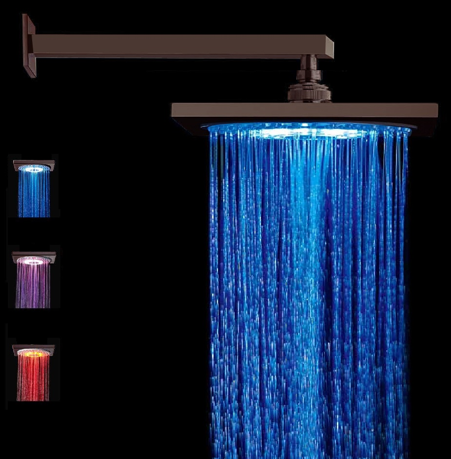 Simple Steps To Install A Colorful Oil Rubbed Bronze Led Showerhead