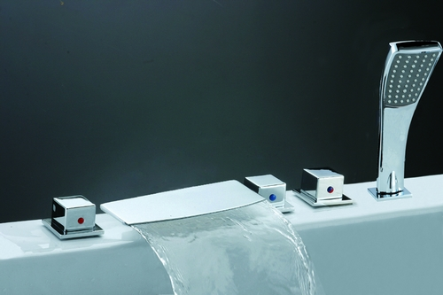 Sierra Solid Brass Bath Faucet Y-8004-F1