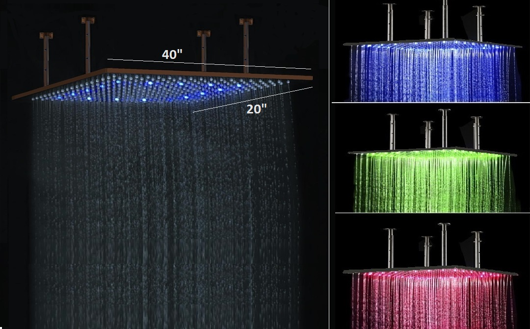 Fontana Led Shower Head