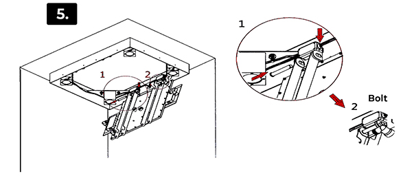 installation instructions for trialo solid brass recessed