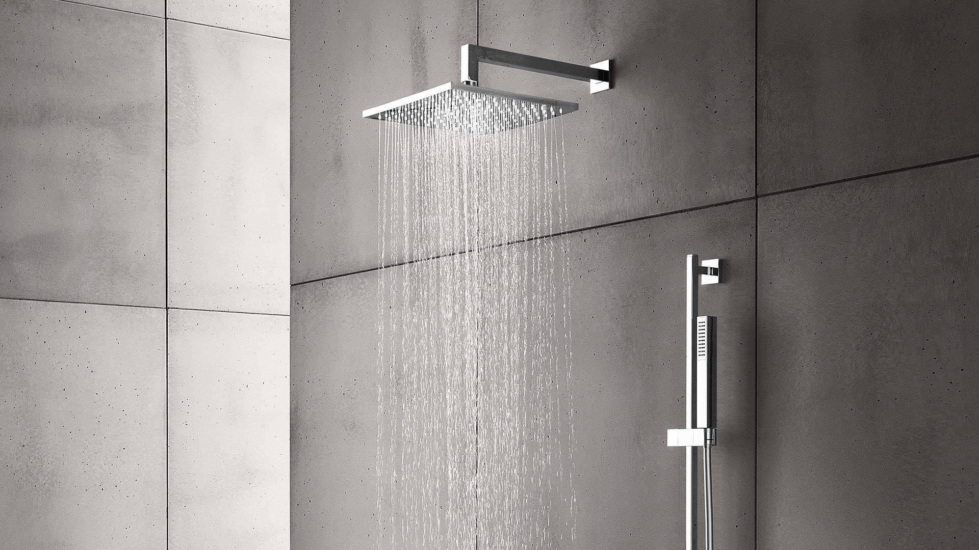 BathSelect Oil Rubbed Bronze Square Rain Shower Head