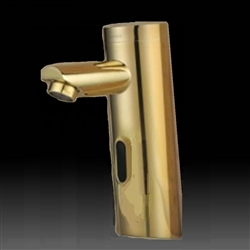 Gold Tone Plated Platinum Thermostatic Sensor Tap Solid Brass Construction