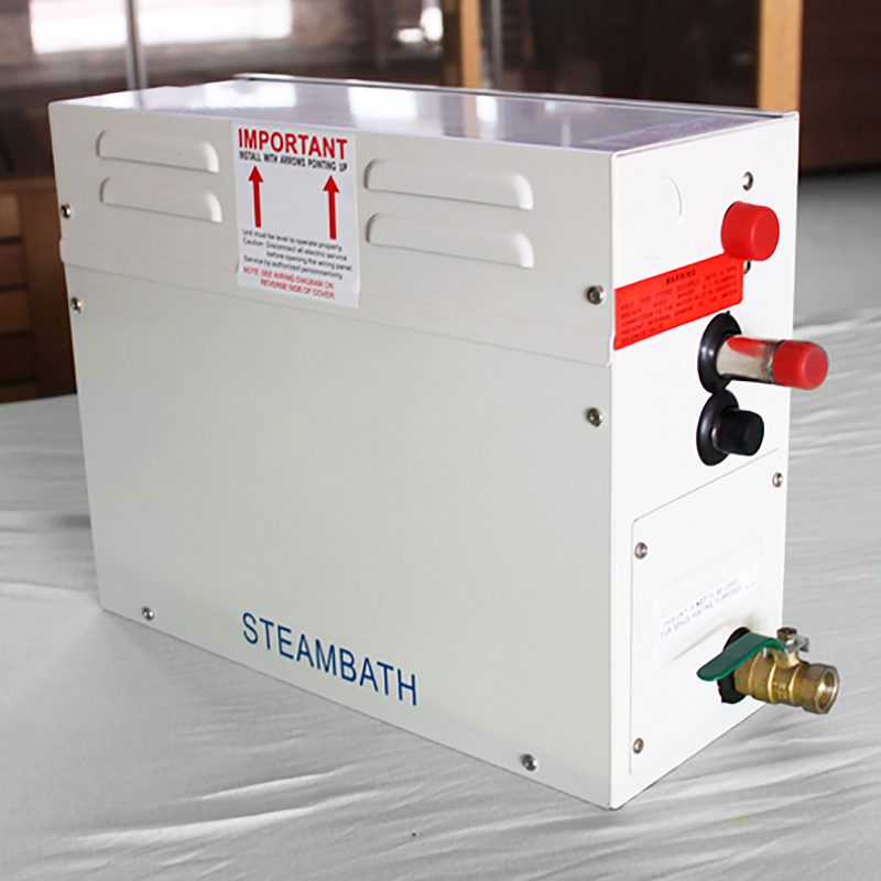 Buy Steamist Auto Drain 6kw 220 240v 50hz With Tc135 Digital Controller Steam Bath Generator One Week Sale