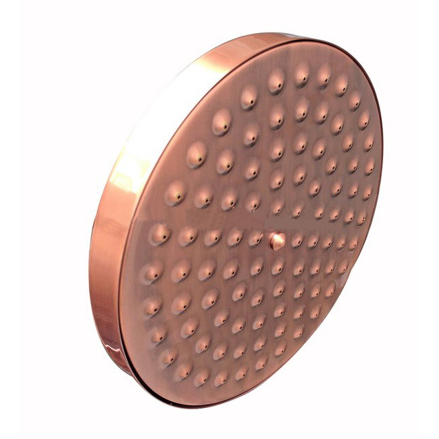Shop Juno Antique Red Copper 8 Inch Bathroom Rainfall Shower Head ...