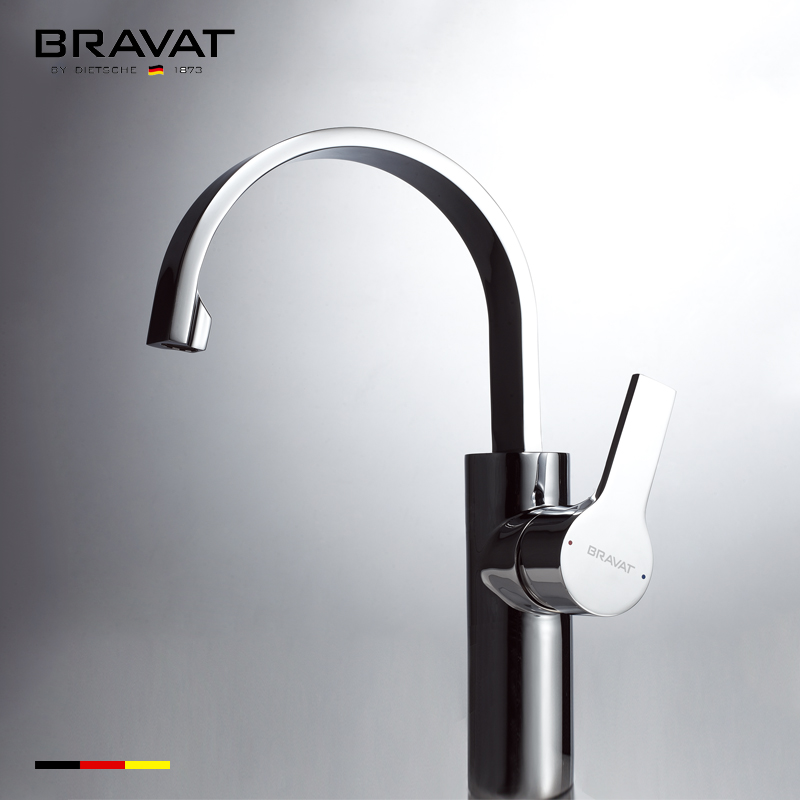Bravat Single Handle Three Function Spray Head Sparkling Water Faucet