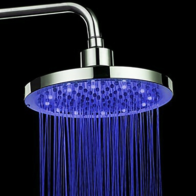 Leo LED Shower Set with Mixer and LED Faucet