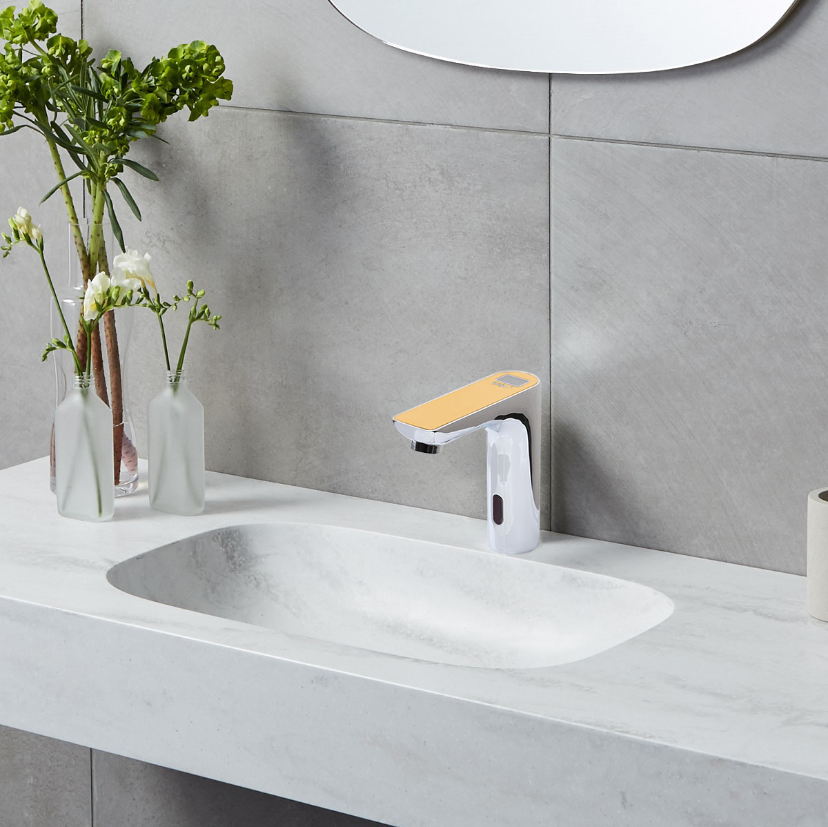 Milan Juno Digital Display Commercial Automatic Motion Sensor Faucet