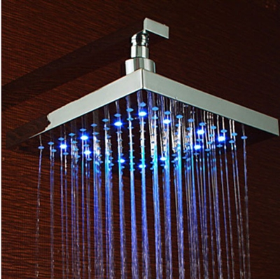 LED Mixer Shower Head with Thermostatic Mixer