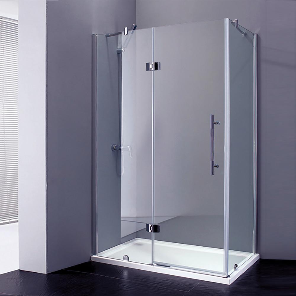 French Corner Sliding Door Bath