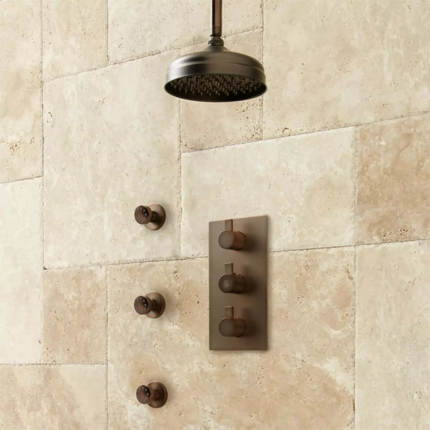 Buy Lenox Shower System With Body Jets In Oil Rubbed Bronze Finish Discounts Up To 45 Msrp