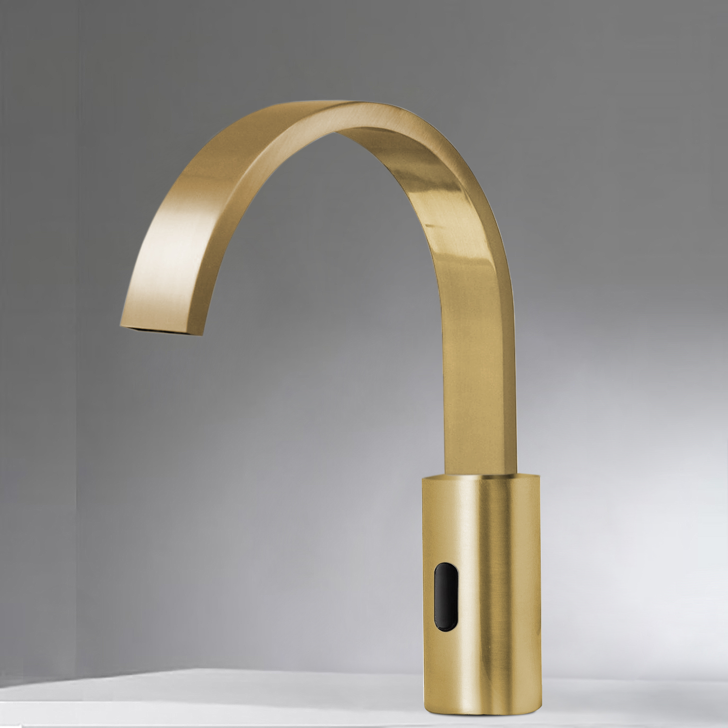 Bravat Gold Infrared Automatic Electronic Commercial Faucet