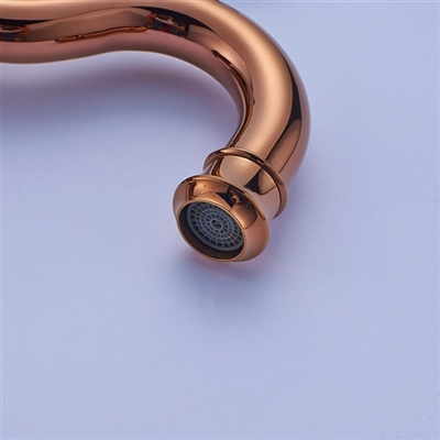 color gold bathroom products touchless and automatic rose faucet options tall