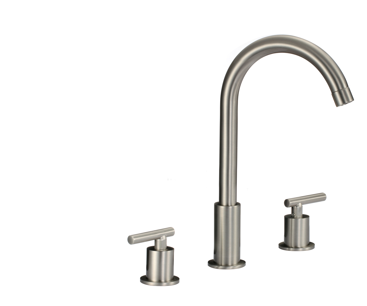 Shop Cannes Dual Handle Solid Brass Bathroom Sink Faucet At Bathselect