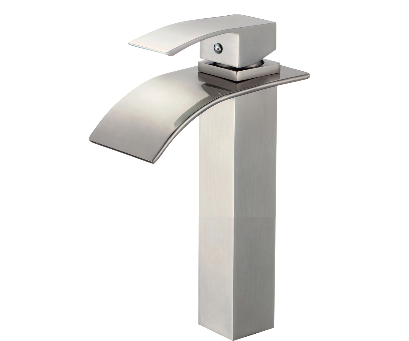Shop Colombes Single Handle Deck Mounted Bathroom Sink Faucet At ...