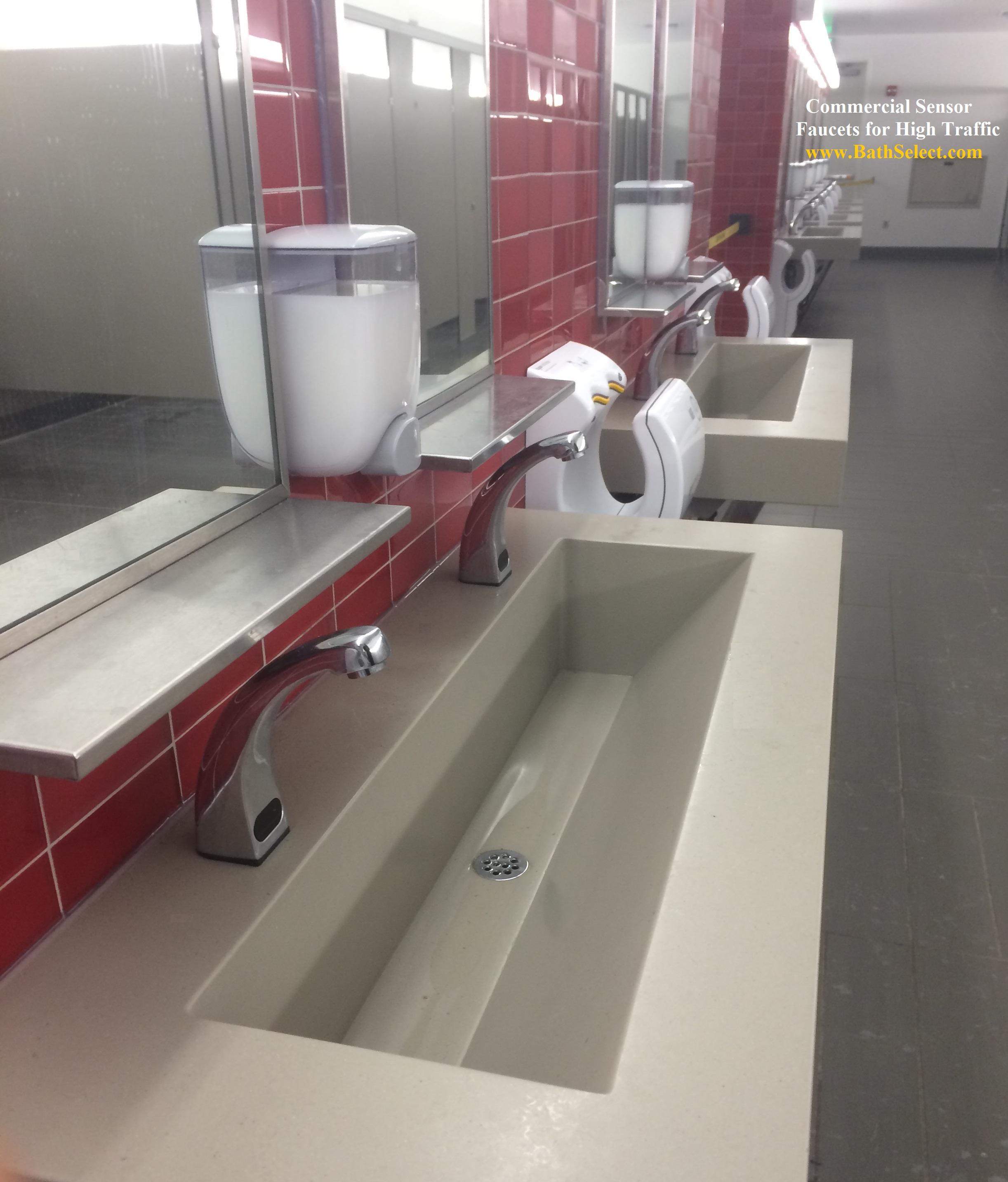 Malls Shopping Centers ADA mercial Sensor Faucets