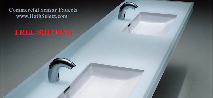 commercial-sensor-faucets-free-shipping