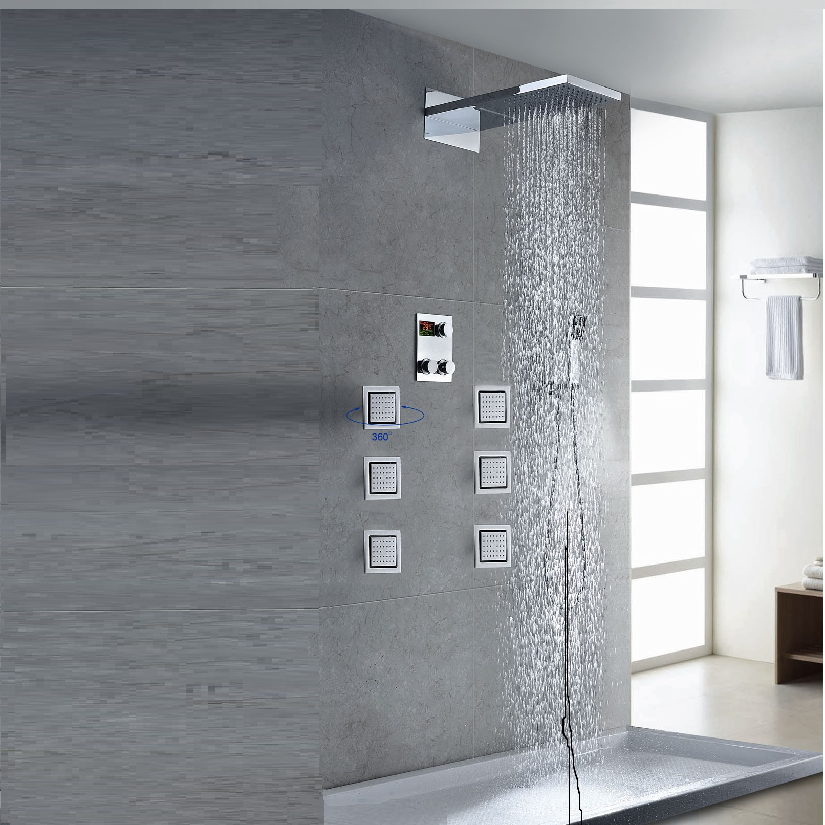 Buy Ultra Shower Set Zbd Digital At Bathselect. Lowest Price Guaranteed