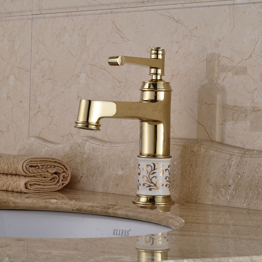 Eli Ceramic Bathroom Sink Mixer Faucet