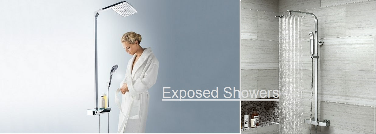 Limited Offer On Trustworthy Exposed Tub And Shower Sets
