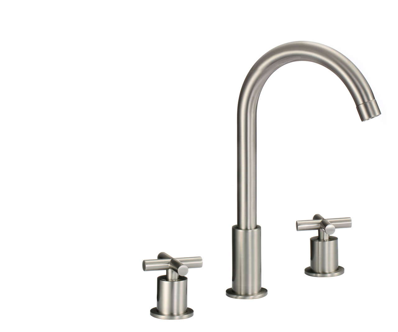 Shop Florence Dual Handle Solid Brass Bathroom Sink Faucet At Bathselect