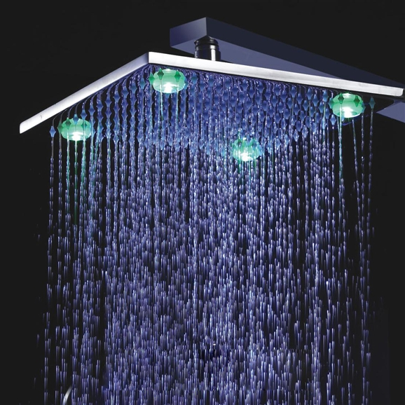Fontana Led Shower Head - Available in 3 sizes