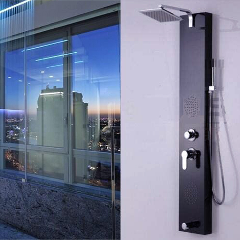 Fontana Renata Oil Rubbed Bronze Shower Panel