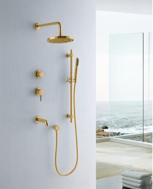 Fabeno Gold Shower Set