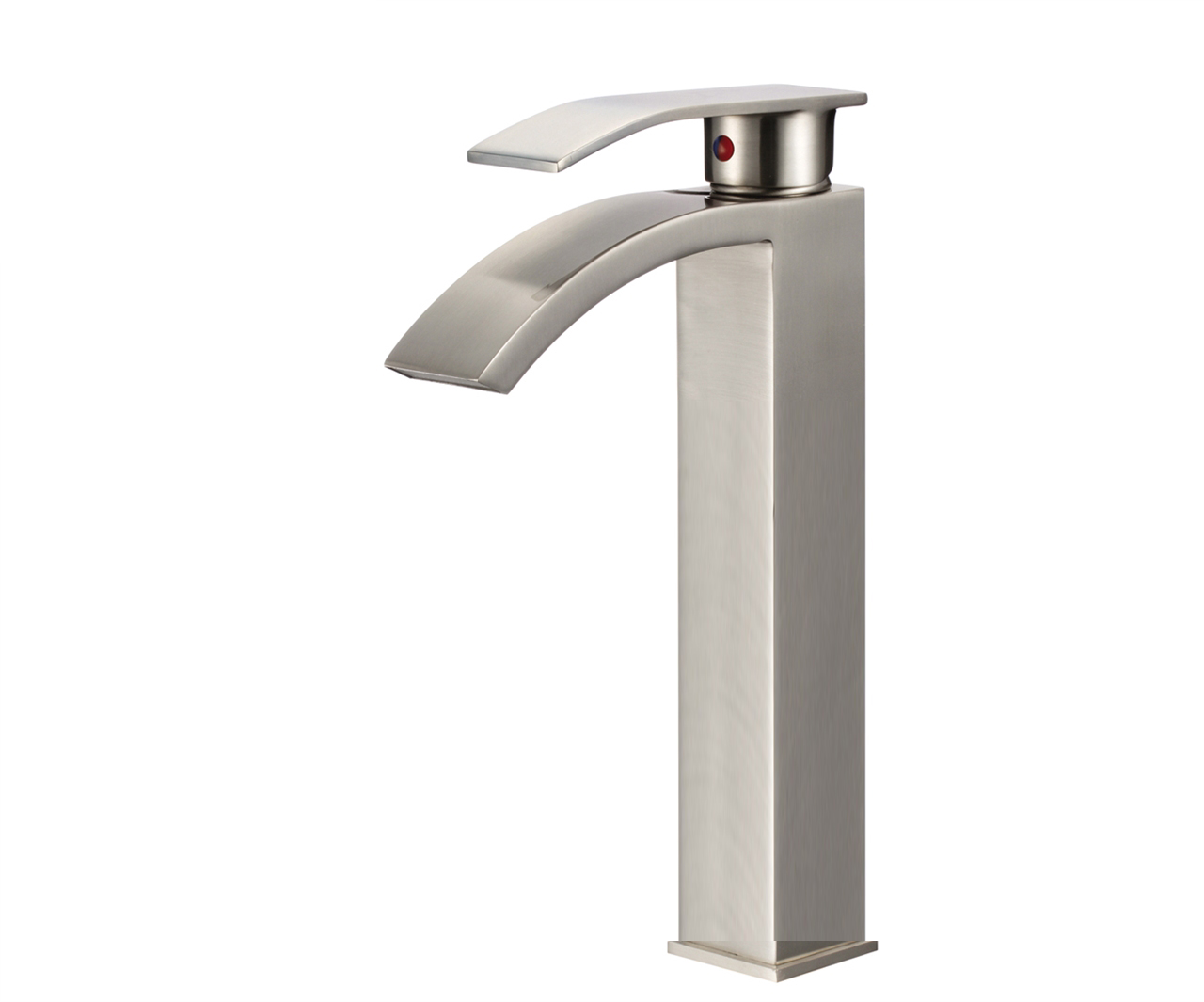 Genoa Single Handle Deck Mounted Bathroom Sink Faucet