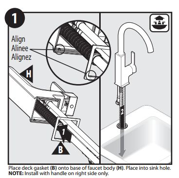 Installation Instructions For Black Kitchen Faucet