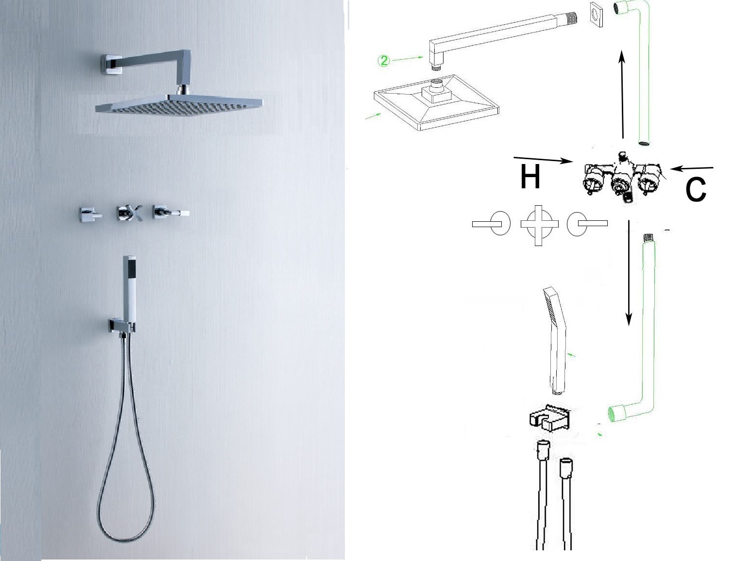 shower installation guide