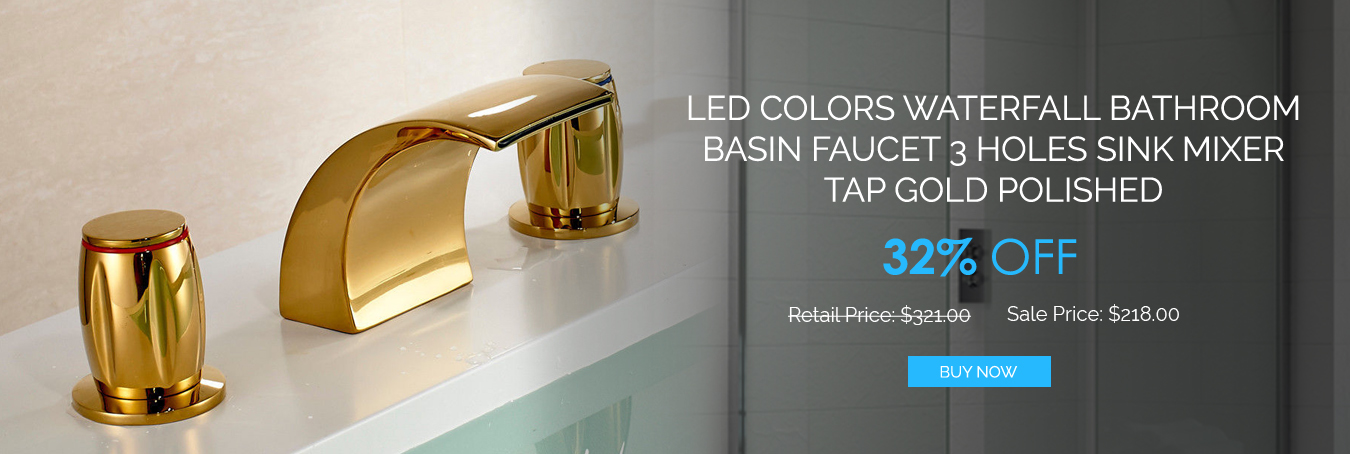Shop Today & Bring Appealing LED Faucets To Your Bathroom