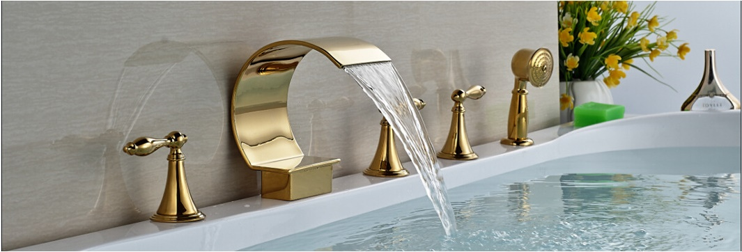 Gold Finish Faucets