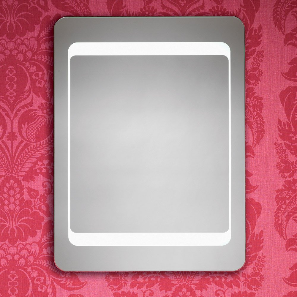 Shop Led Lighted Bathroom Makeup Mirror With Defogger & Touch Switch ...