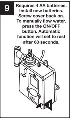 Installation Instructions For LED Waterfall Spout Bathroom ...