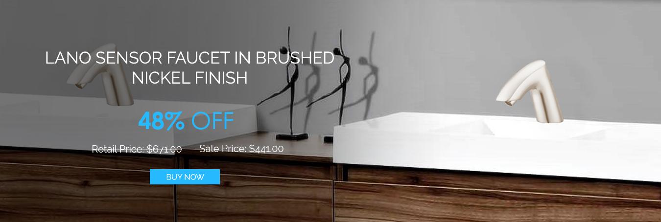 Shop & Get 50% Off On ADA Commercial Bathroom Faucets