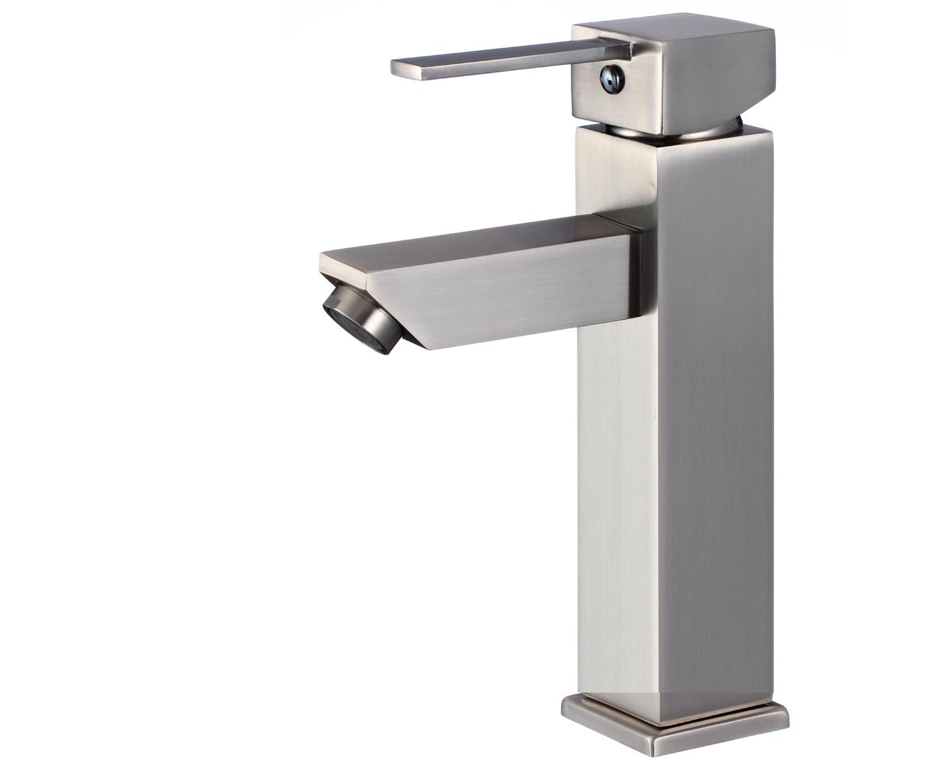 Shop Livorno Single Handle Deck Mounted Bathroom Sink Faucet At ...