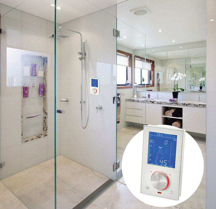 Shop Luxury Digital Thermostatic Shower Valve With Lcd Touch Screen