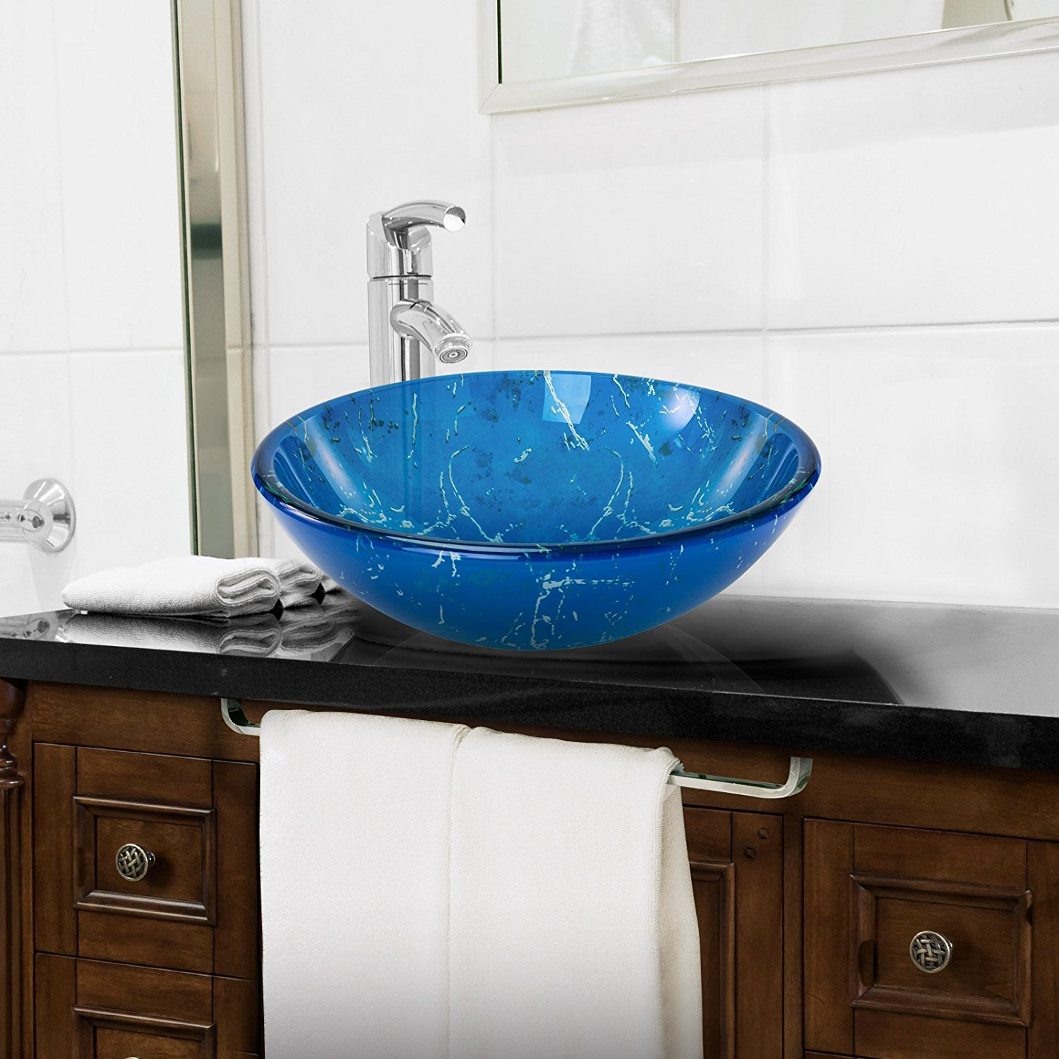 vanity diverse placed darker sink on stylish a bathroom vessel wooden sinks and