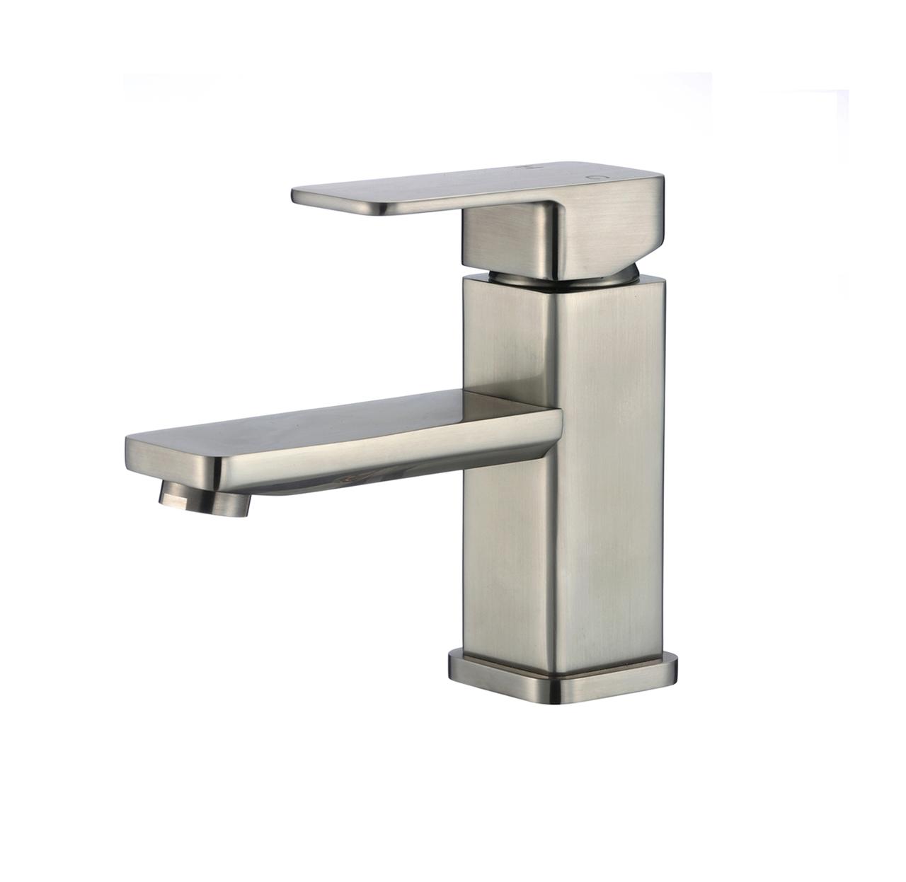 Shop Metz Single Handle Deck Mounted Bathroom Sink Faucet At Bathselect