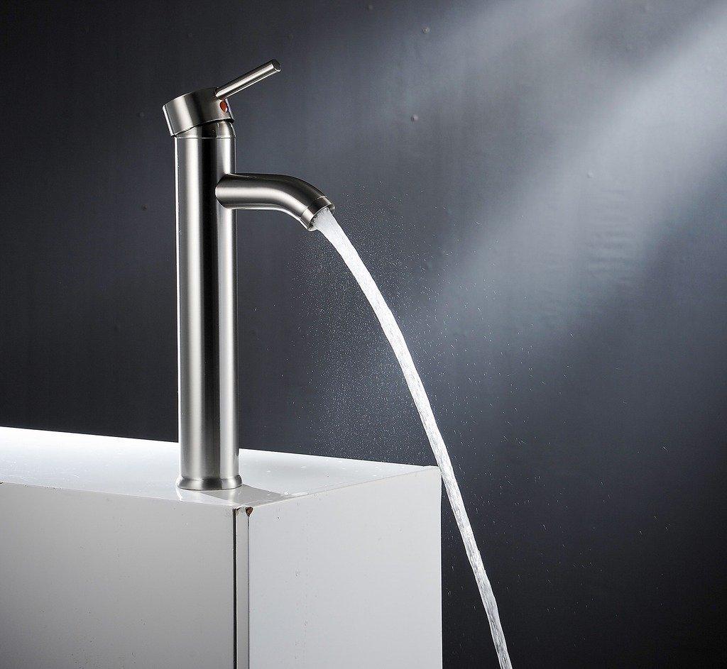 Modena Single Handle Bathroom Sink Faucet
