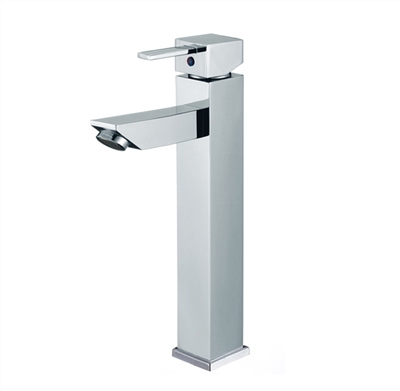 Modena Single Handle Deck Mounted Bathroom Tall Sink Faucet